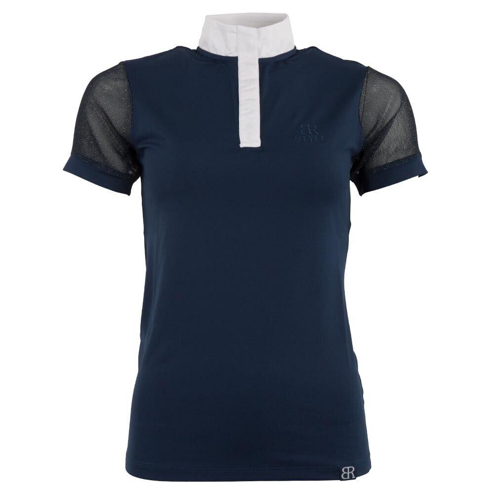 BR Damen Damen Damen Turniershirt Amelia, kurzärmlig, pants Blau e073e6