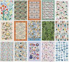 """/""""RHS Chrysanthemum/"""" Pure linen printed tea towel Ulster Weavers"""