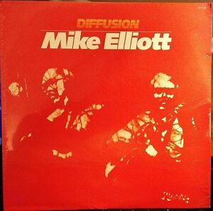 Sealed-MIKE-ELLIOT-LP-DIFFUSION-PAUSA-PR-7139-1983