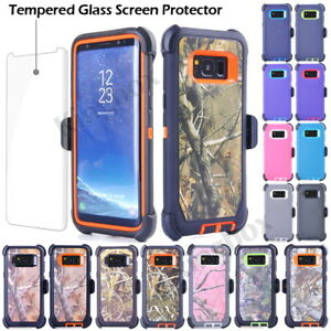 official photos 0e4bf b2e80 Details about For Samsung Galaxy S8 Plus Rugged Shockproof Case Cover, Belt  Clip fits Otterbox