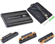 "Case per disco rigido IDE 2.5"" DD USB USB2 Plug&Play Leggero"