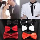 CNF Fashion Mens Tie Hot Sale Adjustable Plain Bow Tie Pre Tied Wedding Bow Tie