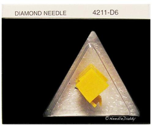 BRAND NEW DIAMOND STEREO NEEDLE STYLUS JVC DT55 DT58 DT59 DT55B DT55W DT55//II