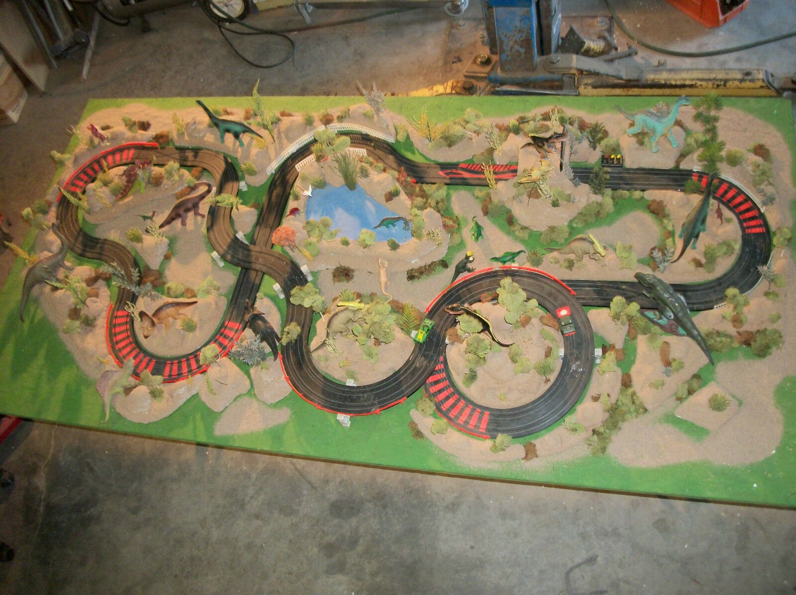 Diseño de ranura de coche Jurassic Park