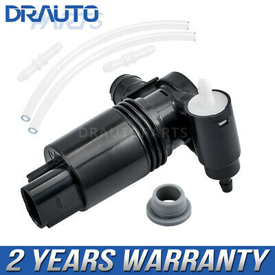 Discovery 2004-2009 12v Direct Fit Washer Pump Front /& Rear Combined