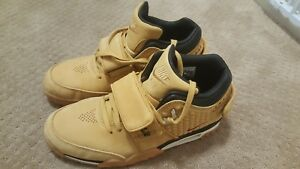 01114c1bf68c43 NIKE AIR TRAINER VICTOR CRUZ PREMIUM WHEAT HAYSTACK Size 10.5 812637 ...
