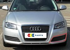 AUDI NEW GENUINE A3 2008-2012 N/S LEFT BUMPER LOWER MATTE GRILL 8P0807681E