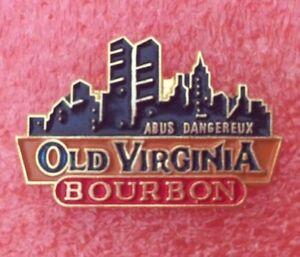Pins-Boisson-Alcool-WHISKY-BOURBON-OLD-VIRGINIA-Skyline-NEW-YORK-USA-Whiskey
