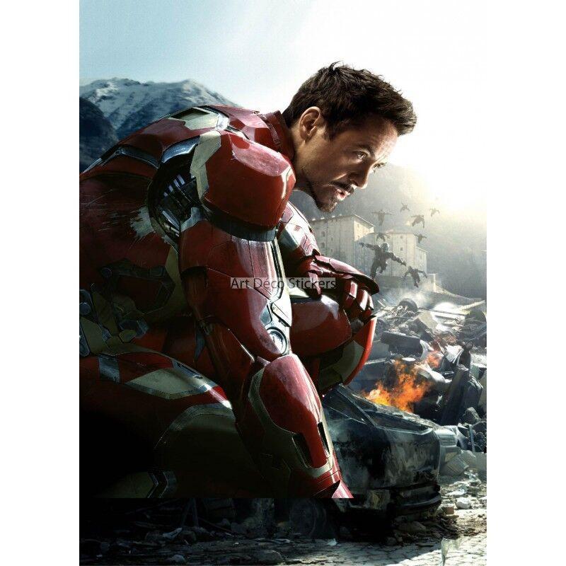 Pegatinas Gigante Decoración Iron Man los Vengadores 15171 15171