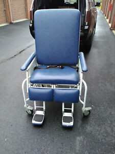 Pleasant Details About Patient Powered Hospital Bed Transfer Transport Geri Chair Recliner Chairs 26 Ncnpc Chair Design For Home Ncnpcorg
