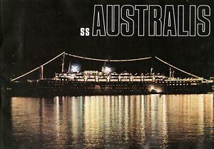 1967-Australis-Deluxe-Brochure-Avec-Plans-amp-Interieurs-Nautiques-Navires