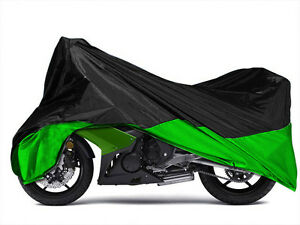 XXXL Green Large Motorcycle Cover Fit Harley Electra Glide Ultra Classic FLHTCU