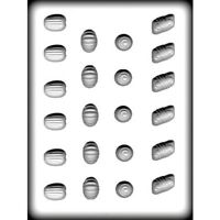 Fancy Assortment Candy Pieces - Hard Candy Mold - 8h-5116
