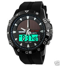 SKMEI Sports Watch 1064 - Analog-Digital Dual time - Men's Solar Power Watch