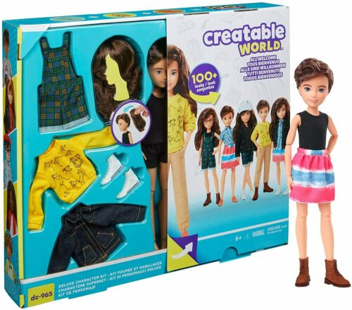 Creatable World Deluxe Character Kit DC-965