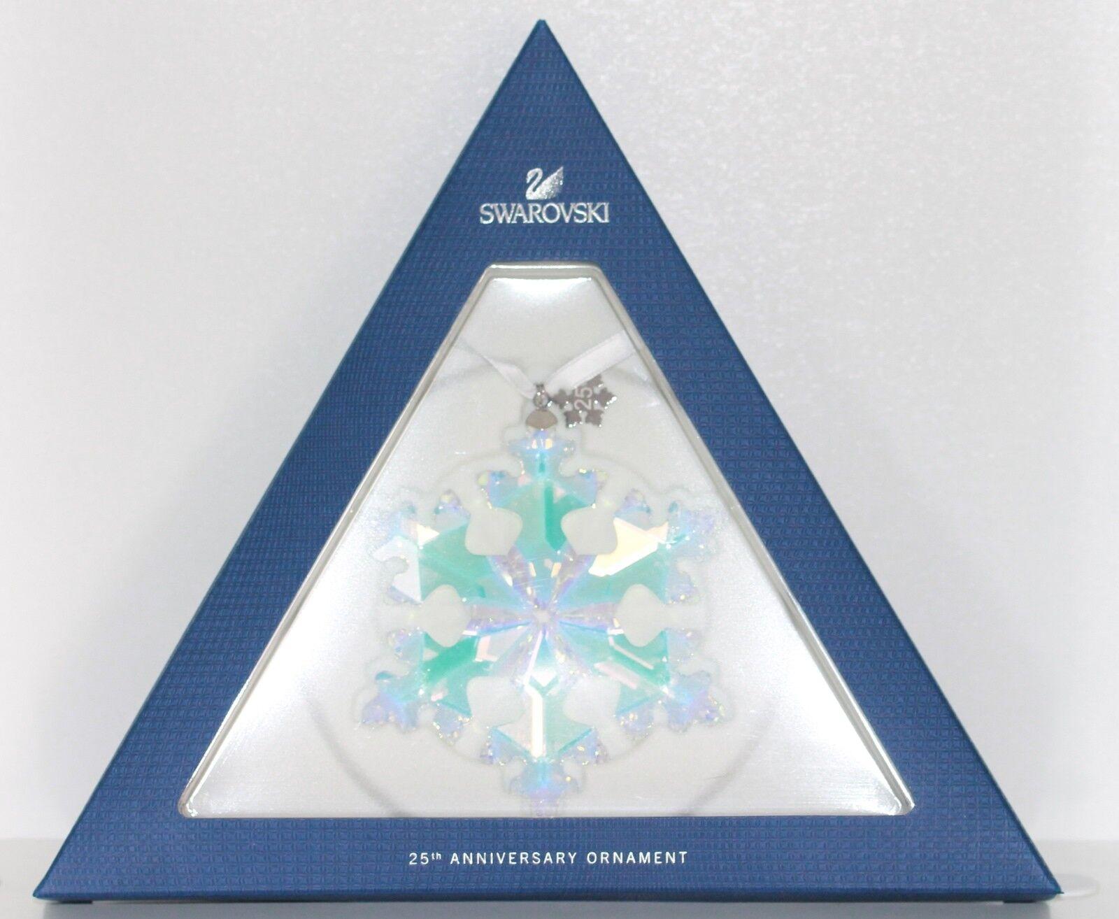 Swarovski étoile Christmas Ornament 25 ans 2016 emballage d'origine 5258537