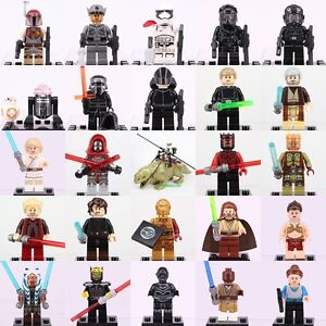 All Superheroes New Star Wars Rogue one Custom Lego Minifigures Fit Building Toy