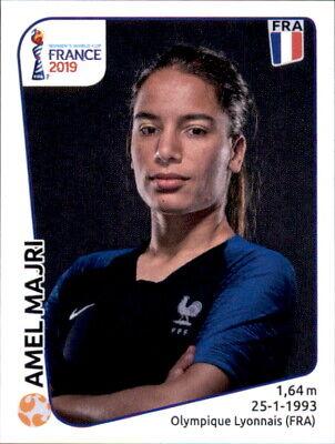 Ausdauernd Panini Frauen Wm 2019 Sticker 32 - Amel Majri - Frankreich
