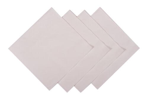 Pack de 1000 LUXE 2Ply Blanc Papier 24 cm COCKTAIL BAR serviettes serviettes tissu