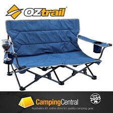 OZTRAIL FESTIVAL TWIN Folding Camping Picnic Beach Concert Chair (LOW TO GROUND)