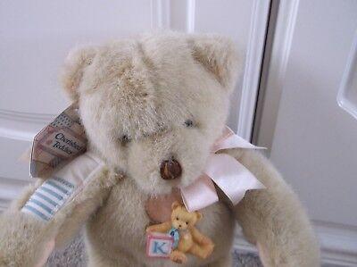'betty! Etichettato Dakin Cherished Teddies Teddy Bear C1995 Super Grandi Teddy Bear- Forte Imballaggio