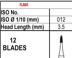 10 Fraises 12 Lame Parage & Finitions Carbure 7102,fait En Canada,meilleure