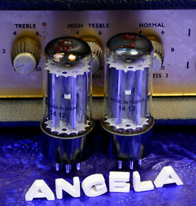Matched-Pair-Sovtek-Groove-Tubes-GT-5Y3-5Y3GT-Rectifier-Tubes-For-Fender-Amps