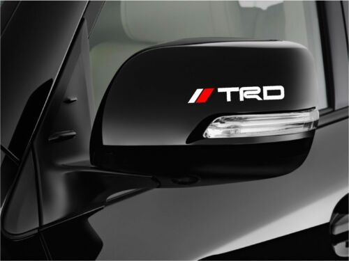 mirror wheels 8 pieces set TRD Tacoma Racing Stickers JDM Decals for handle