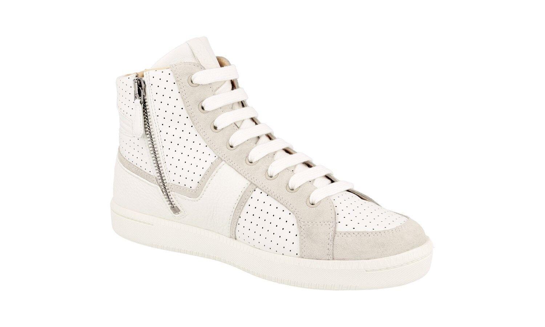 Zapatos CAR zapatos BY PRADA LUXUEUX KDT46K KDT46K KDT46K blancooHE NOUVEAUX 41 41,5 UK 8 61f2f3