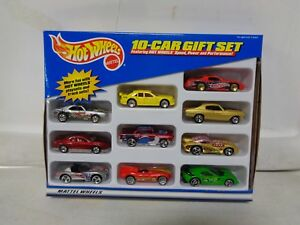 Hot Wheels 10 Car Gift Set W Jaguar D Type Ebay