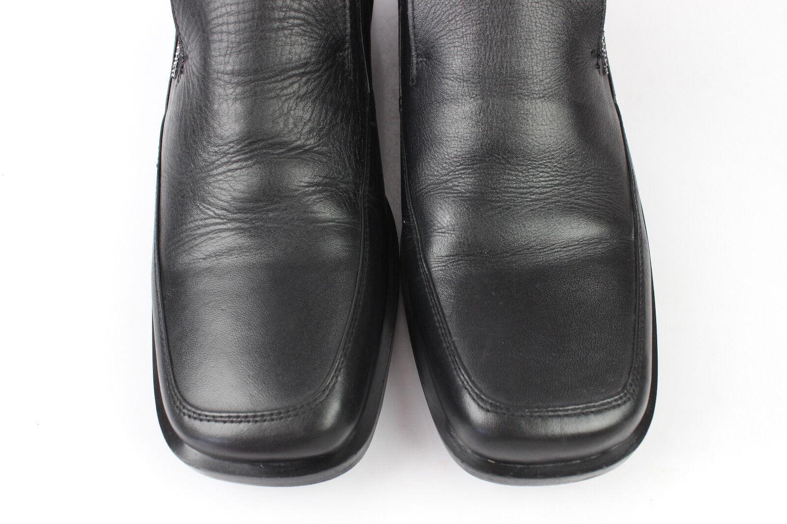 Mokassiner Leder PANTHER London schwarzes Leder Mokassiner T 41 sehr guter Zustand 0dbd95