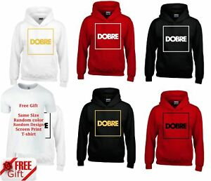 Dobrebrothers Kids Jumper Hoodie Youtuber Pullover Gift Free Tee Top