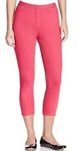 6eeb765ad8cc39 Image is loading HUE-U13473-Ocean-Rose-Pink-Original-Jeans-Stretch-