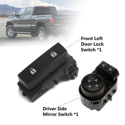 Door Lock Switch Mirror Switch Driver Side For Gmc Chevy