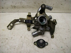 Honda CBR1000F SC21 SC 21 CBR 1000 Thermostat & Fühler Halter Deckel Komplett