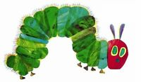 The Very Hungry Caterpillar Iron On T Shirt / Pillowcase Fabric Transfer