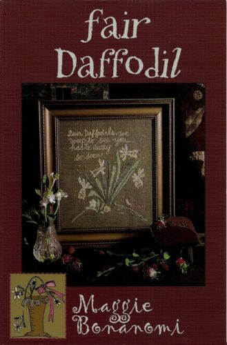 Fair Daffodil by Blackbird Designs cross stitch pattern
