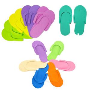 5dfa4445c1a7 Disposable Flip Flops Pedicure Foam Pedicure Salon Spa Slippers Pack ...