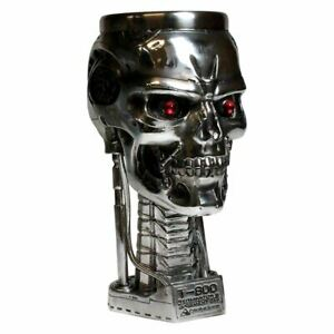 Terminator 2 Head Goblet Chalice Collectors Drinking Glass - Boxed Nemesis Now