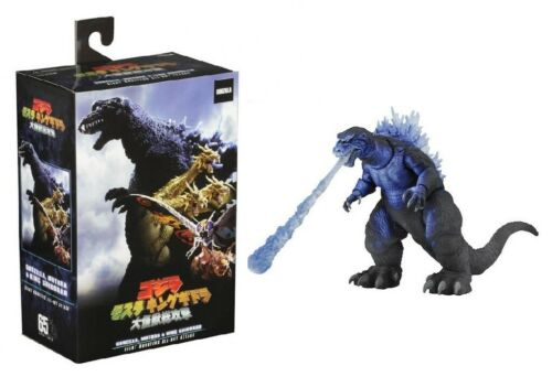 "Godzilla 2001 Atomic blast 6/"" Action Figure 12/"" tête à queue NECA"