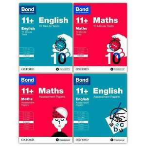 Bond-11-English-amp-Maths-4-Books-8-9-Years-Inc-Assessment-and-Tests-NEW