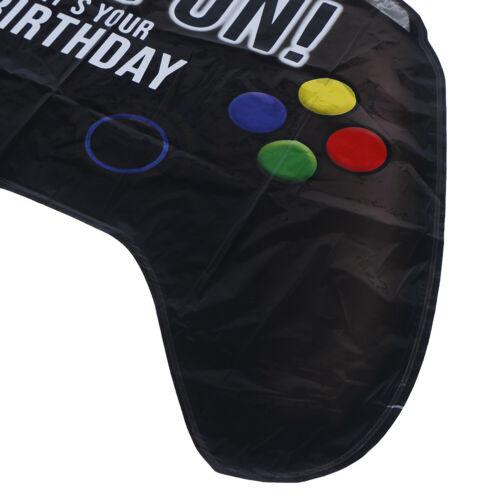 64*40cm Gamepad Shape Foil Balloon Birthday Party Balloons Decor Kids Toys XJ