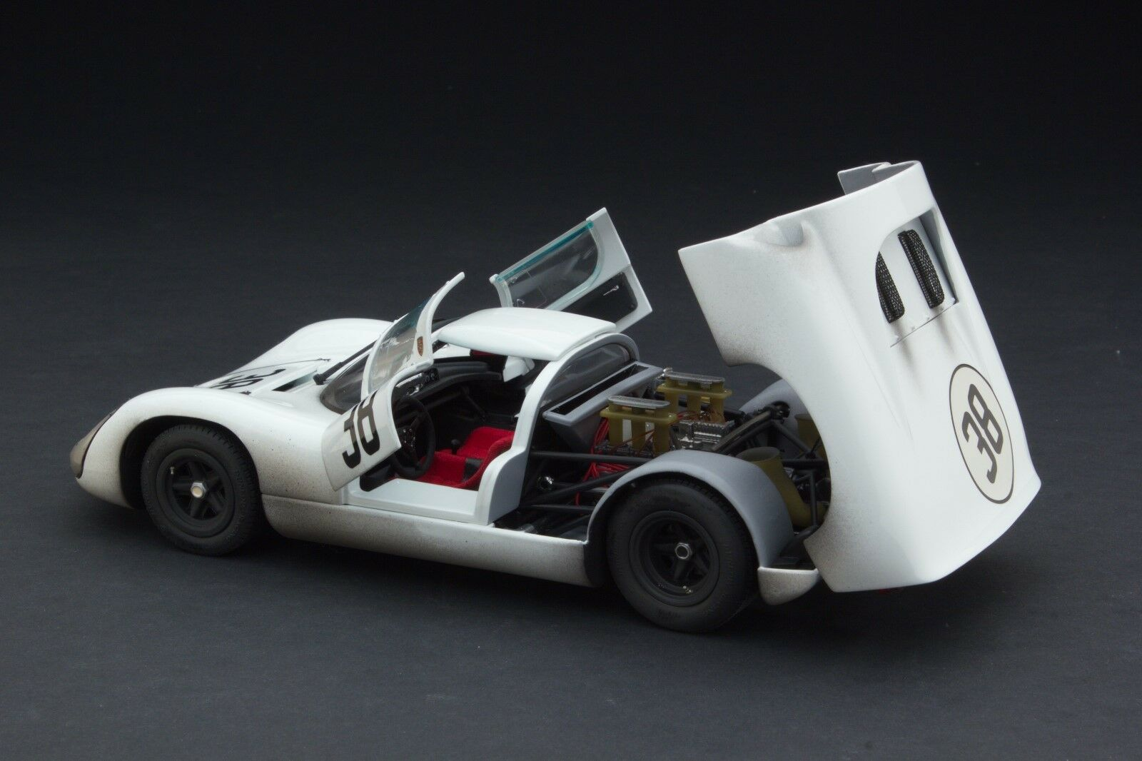 Porsche 1967 Exoto Patiné Course 910 le MTB00062CFLP 18 1 ...