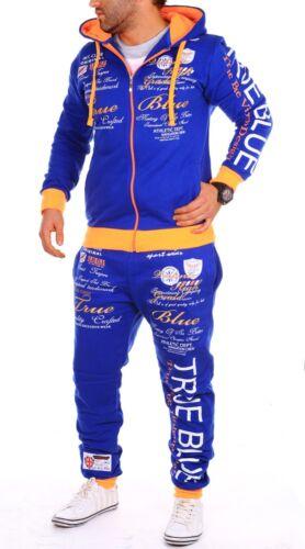 Hombre Chándal Jogging Chaqueta Pantalón Deportivo Fitness S-XXX Nuevo