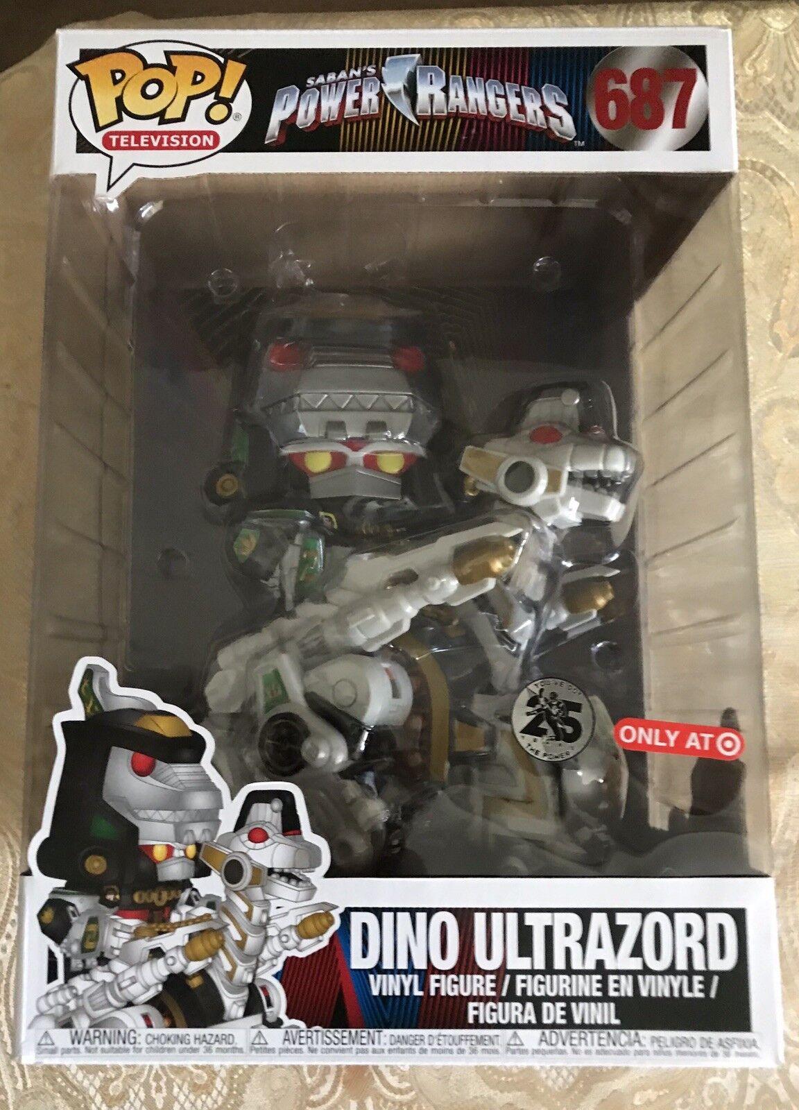 Pop  Tv Power Rangers Dino Ultrazord Target Exclusive Funko