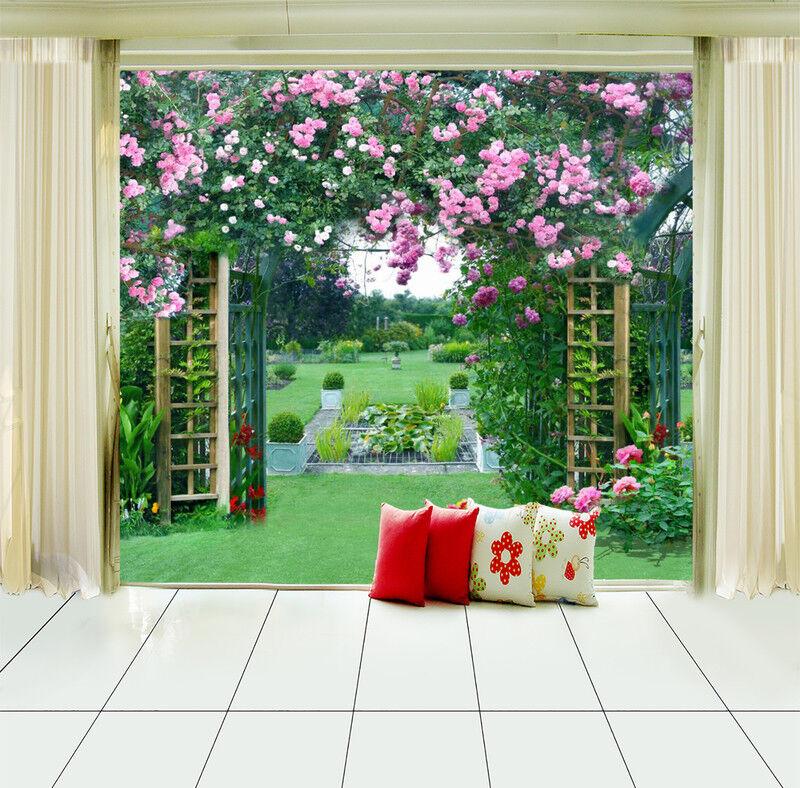 3D Gartenrasen 57 Tapete Tapeten Mauer Foto Familie Tapete Wandgemälde DE Summer