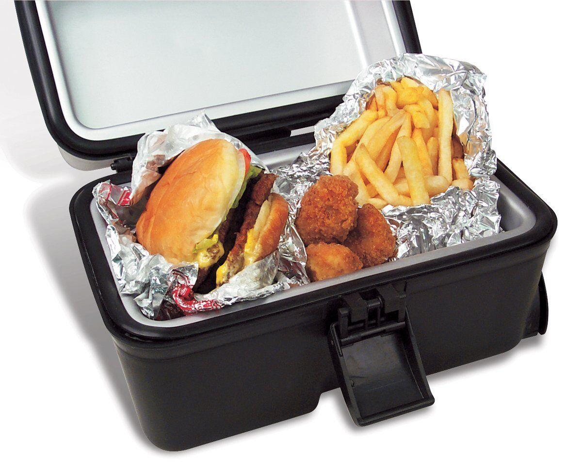 NEW Portable Wheels Electric Warm Food Stove Box Travel Dorm Car Camping Compact