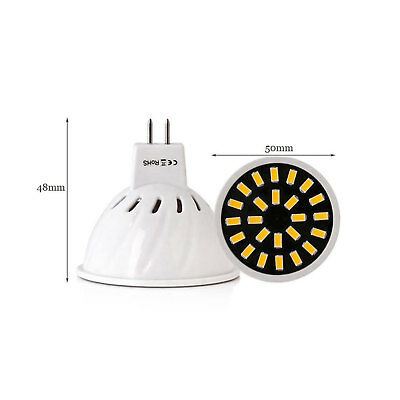 MR16 GU10 E27 LED Scheinwerfer SMD 5733 4W 6W 8W AC 220V warm kaltweiß Lampe