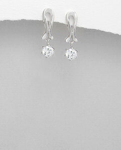 Elegant-CZ-drop-earrings-Womens-jewellery