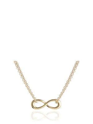 Adina Reyter Tiny Infinity 18K Over Sterling Silver Necklace NEW